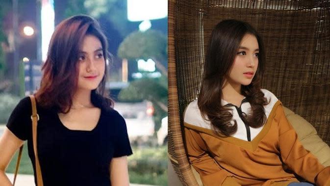 5 Bukti Selebgram Hajarani Disebut Mirip Nabilah Eks JKT48 (sumber: Instagram.com/hajarans dan Instagram.com/nblh.ayu)