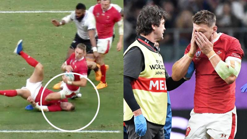 Dan Biggar will miss Wales' next pool game against Uruguay.