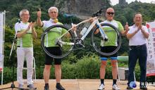 全世界僅3輛 捷安特打造專屬「花博單車」首度亮相