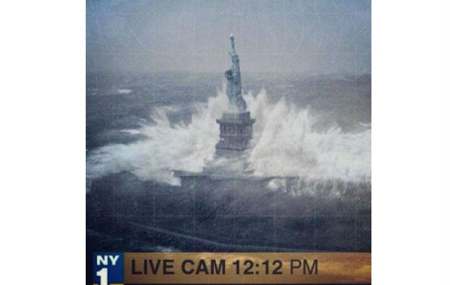 Tweeted Movie still masquerades as Hurricane Sandy