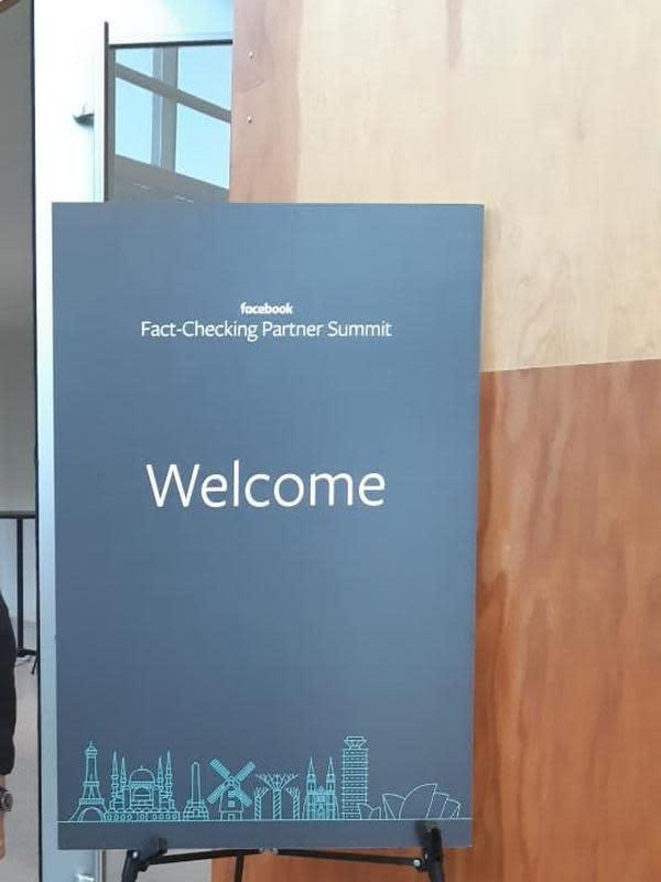 Faceboook Fact Checking Partner Summit. (Liputan6.com/Tanti Yulianingsih)