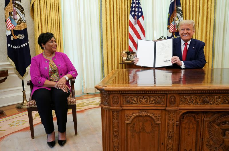 Trump pardons Alice Johnson, whose cause was backed by Kim Kardashian