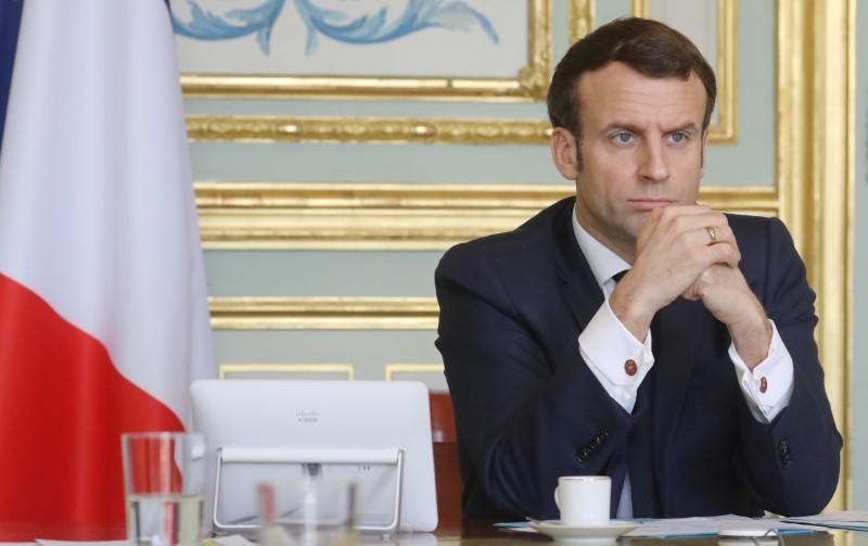 France's Macron, China's Jinping say G20 summit needed to combat virus