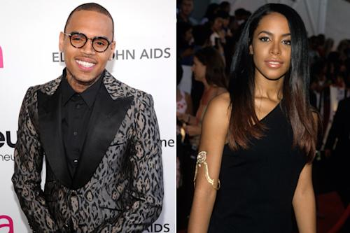New Chris Brown Track Will Feature Aaliyah