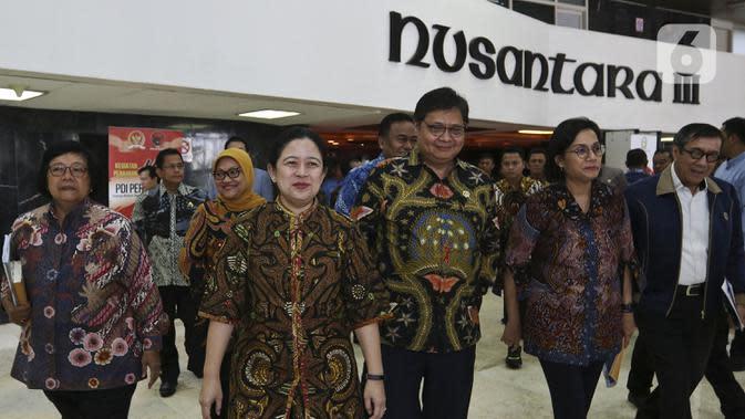 Pimpinan DPR Sebut Draf Final RUU Cipta Kerja 812 Halaman Siap Dikirim ke Presiden