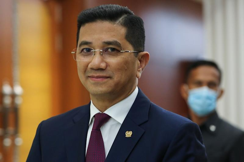 Datuk Seri Mohamed Azmin Ali has said that his faction is considering joining Muafakat Nasional (MN). — File picture by Yusof Mat Isa