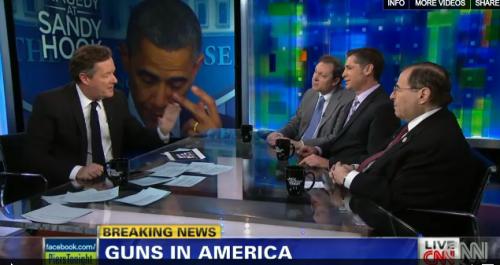 Newtown School Shootings: Piers Morgan Takes Down Gun Lobbyists on Gun Control (Video)