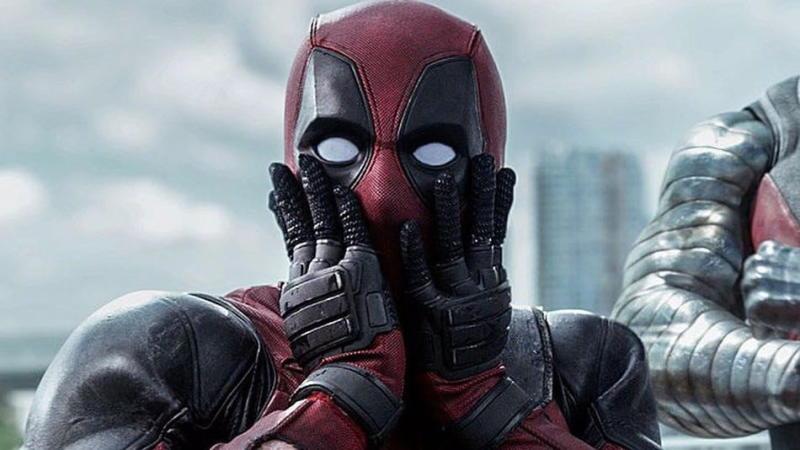 Ryan Reynolds as Deadpool in 2016's Deadpool