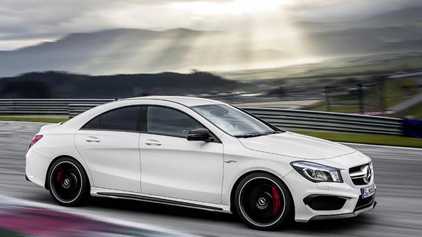 The 2013 Mercedes-Benz CLA45 AMG's big bark: Motoramic TV