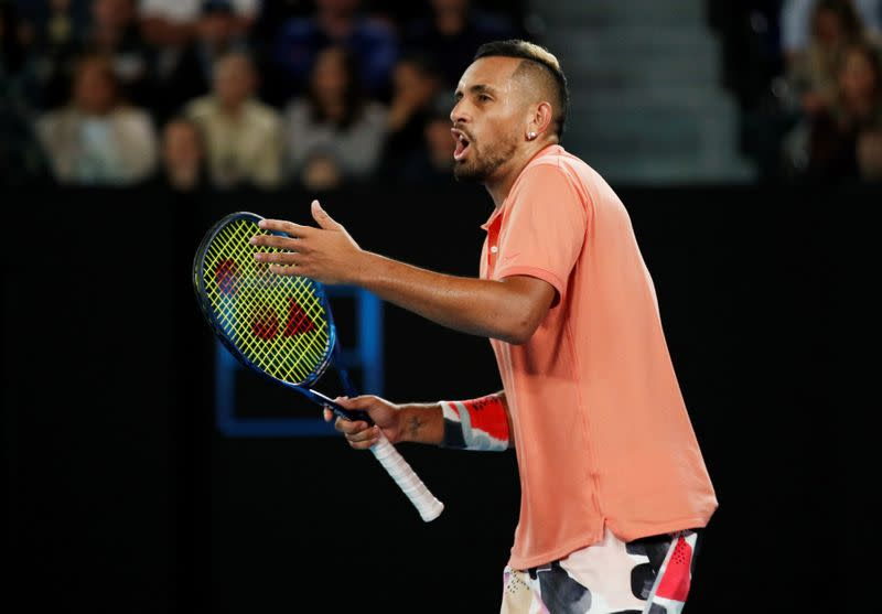 Australia's Kyrgios withdraws from U.S. Open
