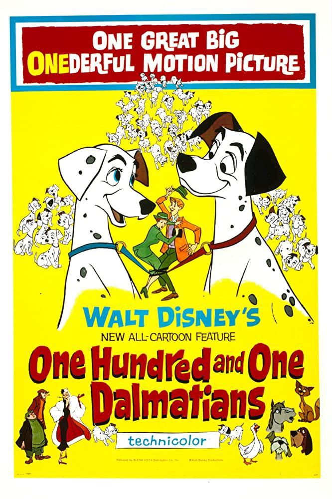 101 Dalmatians (1961). Image via IMDB.