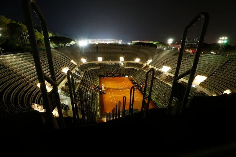 Italy to allow fans at tennis, two Serie A games and Formula One