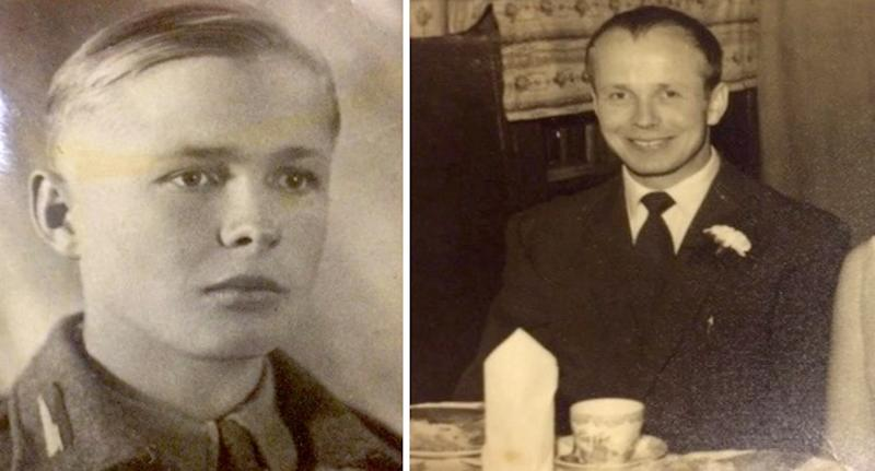 Jozef Kowalczyk in younger days (pictured left and right)