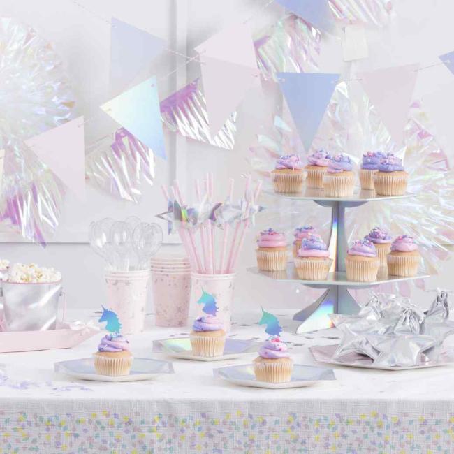 Iridescent Unicorn Party Supplies