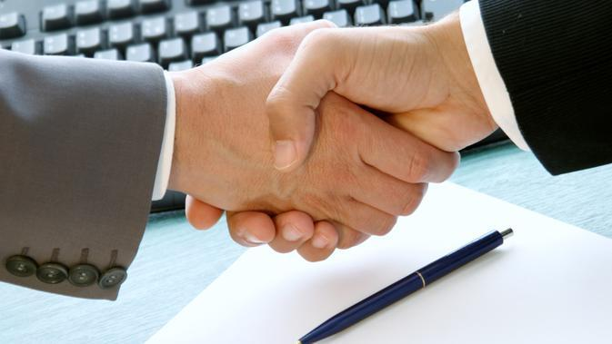 Ilustrasi - perjanjian bisnis (cloudpro)