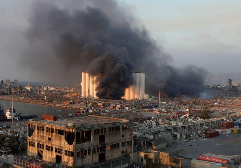 U.S. Federal Bureau of Investigation to help Lebanon probe Beirut explosion