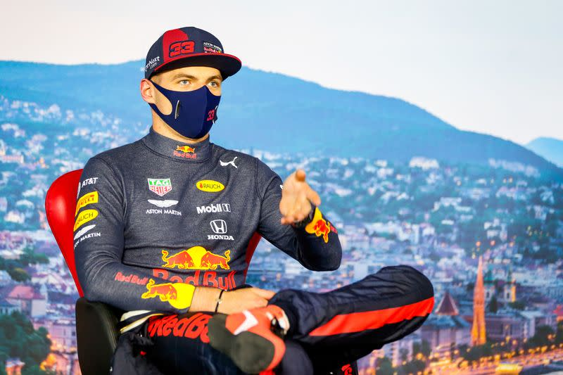 Verstappen races to the podium after pre-race crash