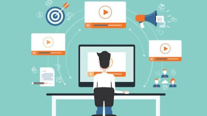 Ilustrasi digital marketing. Dok: oracle.com
