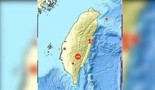 地牛翻身連三震!06:10規模4.6 震央都在台東海端