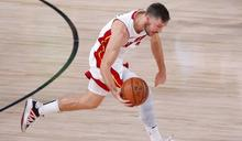 NBA》德拉吉奇末節強硬表現救主 熱火勝綠衫軍2-0領先