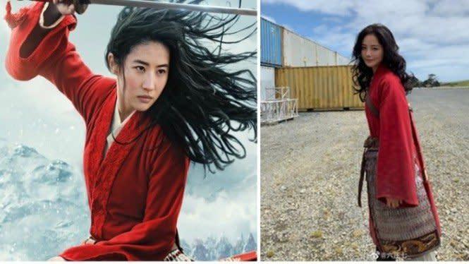 Netizen Terpukau dengan Kecantikan Pemeran Pengganti Mulan