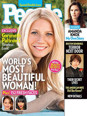 Gwyneth Paltrow Tops People's 2013 Most Beautiful List
