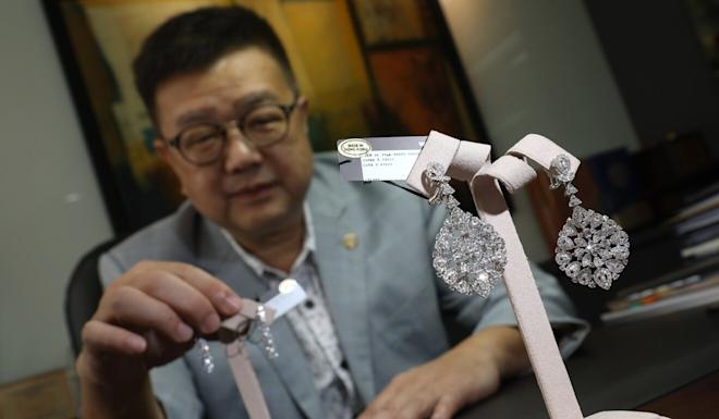 Benny Do, of Wing Cheong Jewellery International, says about half of Hong Kong's jewellery exports had gone to the US in the past few years. Photo: Nora Tam