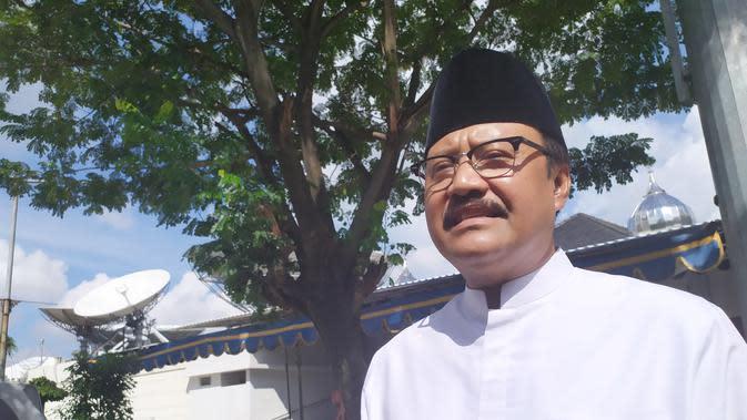 Jelang Akhir Jabatan Ketua Kwarda Pramuka Jatim, Gus Ipul Pamit ke Gubernur Khofifah