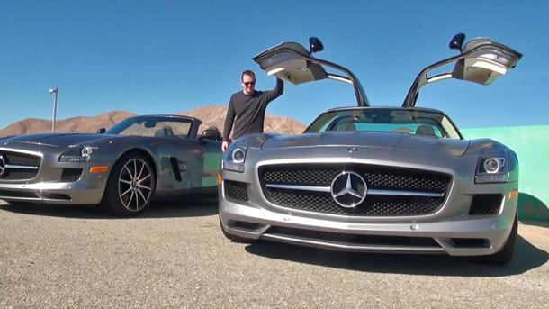 The Mercedes SLS AMG GT, proving less is more: Motoramic TV