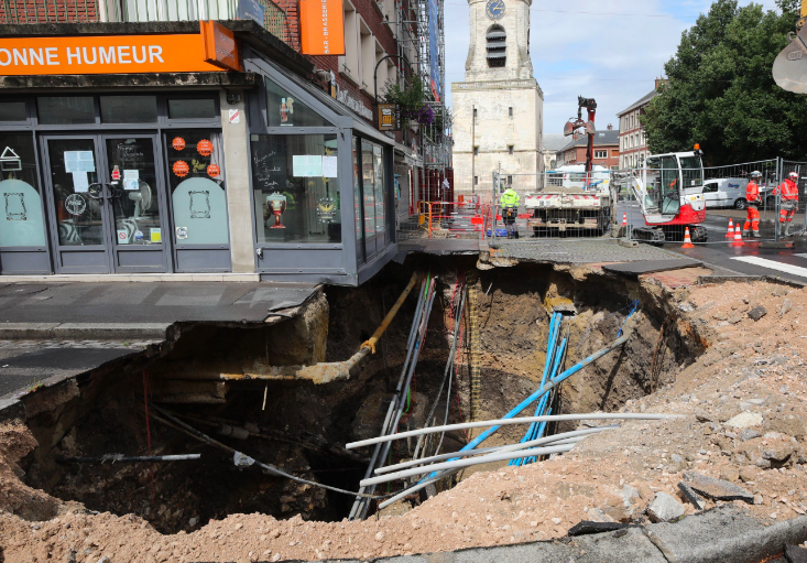 The disaster happened in Amiens, which is a city in northern France. (GETTY)