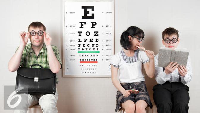 Ilustrasi Merawat dan Menjaga Kesehatan Mata (iStockphoto)