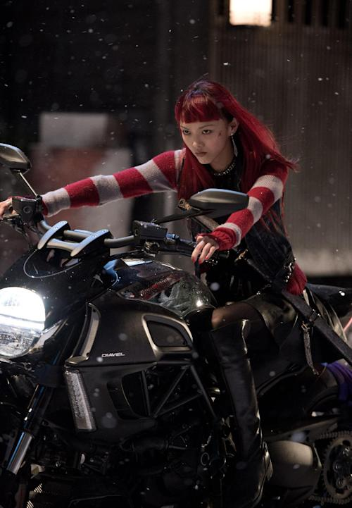 """This publicity image released by 20th Century Fox shows Rila Fukushima in a scene from """"The Wolverine."""" (AP Photo/20th Century Fox, Ben Rothstein)"""