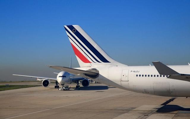 Air France says it constantly analyses flight paths