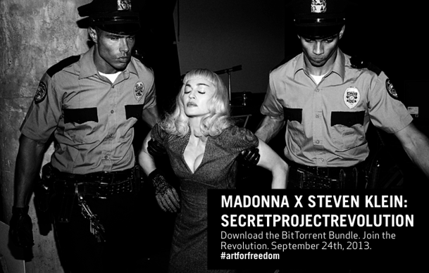 Madonna Expresses Herself With 'secretprojectrevolution'