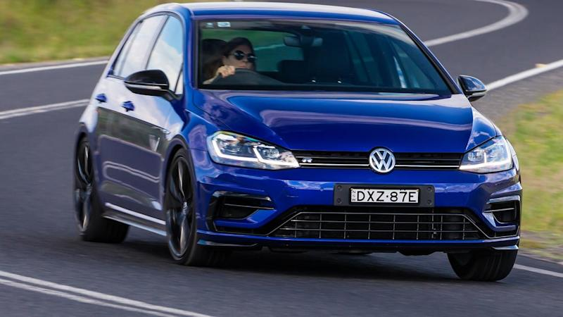 tricked up vw golf r is extra special. Black Bedroom Furniture Sets. Home Design Ideas