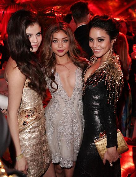 The Weinstein Company's 2013 Golden Globe Awards After Party Presented By Chopard, HP, Laura Mercier, Lexus, Marie Claire, And Yucaipa Films - Inside: Selena Gomez, Sarah Hyland and Vanessa Hudson