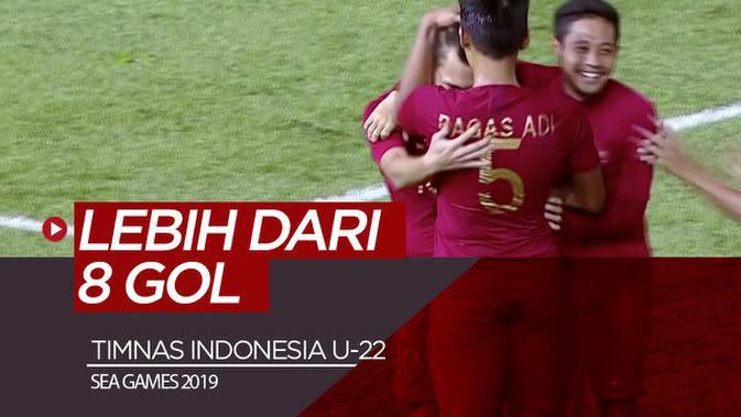 VIDEO: Timnas Indonesia U-22 Bisa Cetak Lebih dari 8 Gol ke Gawang Brunei