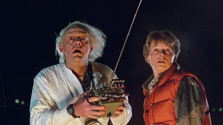 Back to the Future is back on Netflix!