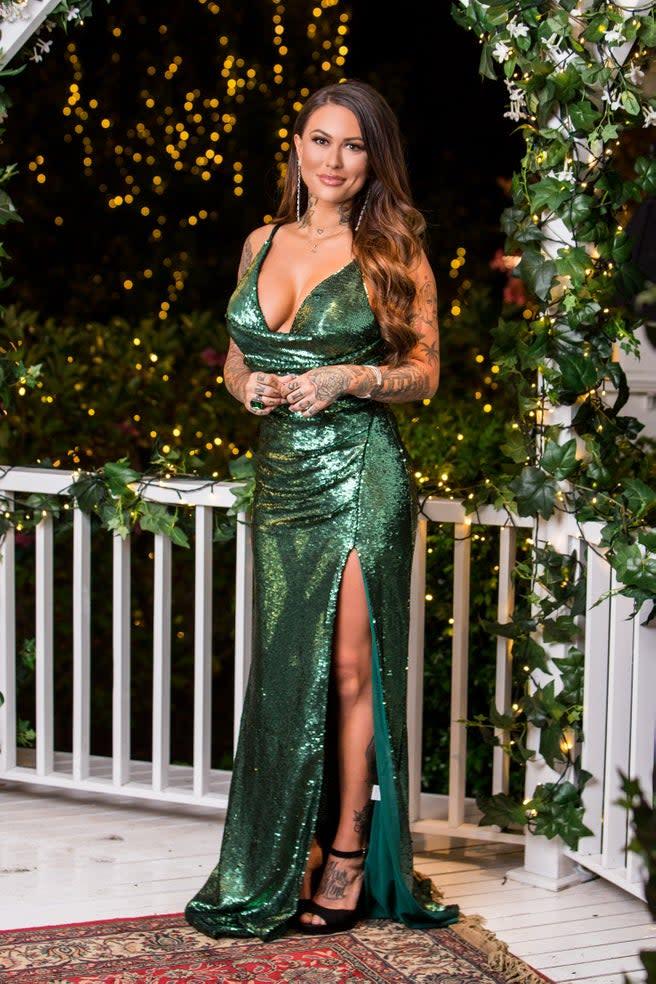 Bachelor contestant Jessica Brody. Photo: Channel Ten