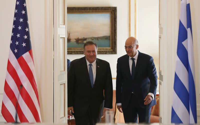 Greece, U.S. foreign ministers to meet over Eastern Mediterranean tensions