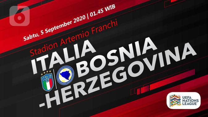 Italia vs Bosnia-Herzegovina (Liputan6.com/Abdillah)