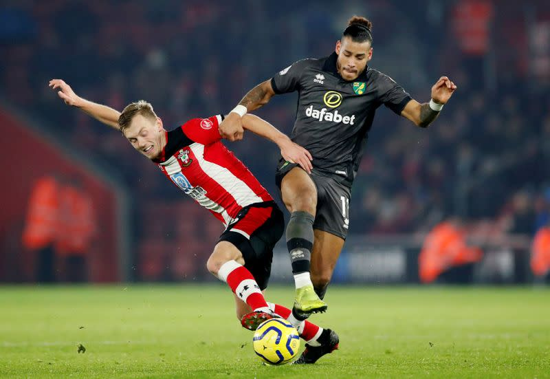 Premier League - Southampton v Norwich City
