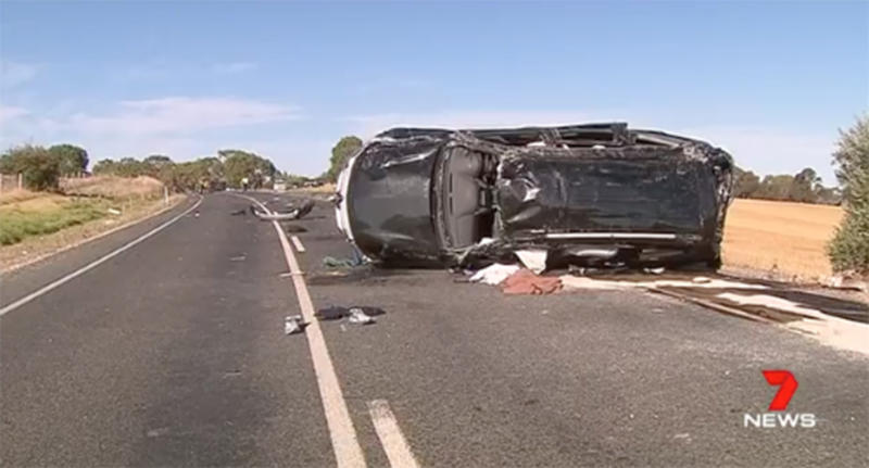 Dashcam shows driver concentration lapse killed South Australian grandfather Ross Anderson.