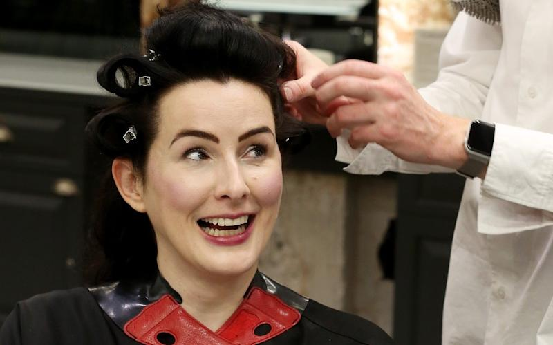 Hannah had her hair cut byNicholas Hardwick at Josh Wood Colour Atelier in Notting Hill - Clara Molden