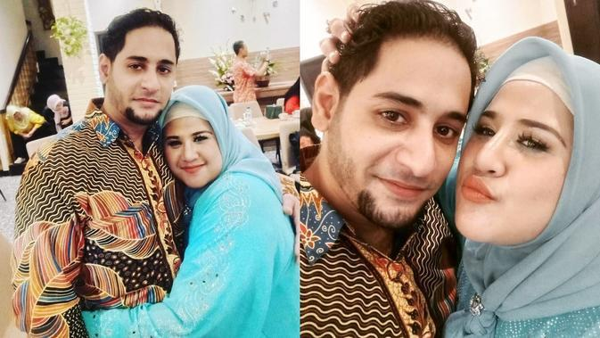 Dhawiya Zaida dan Muhammad Basurrah (Sumber: Instagram/dhawiyazaida)