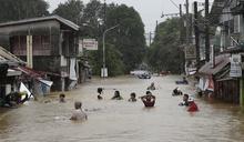 颱風「梵高」襲菲 馬尼拉成汪洋