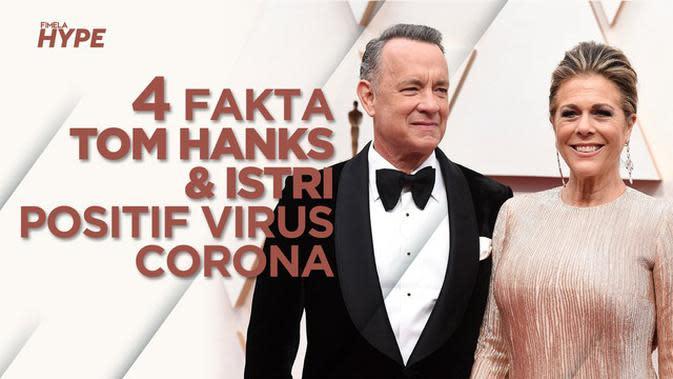 Tom Hanks dan Istri Positif Virus Corona, Ini 4 Faktanya
