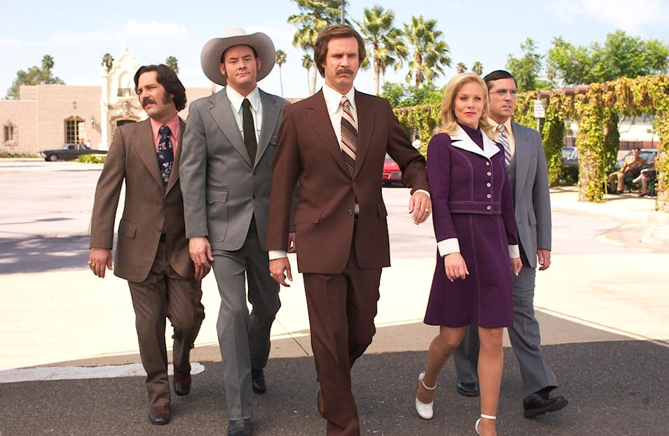 100 funniest movies to see before you die, Anchorman