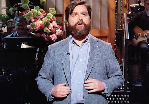 Zach Galifianakis Hosts Saturday Night Live: Watch Video of the Best and Worst Sketches
