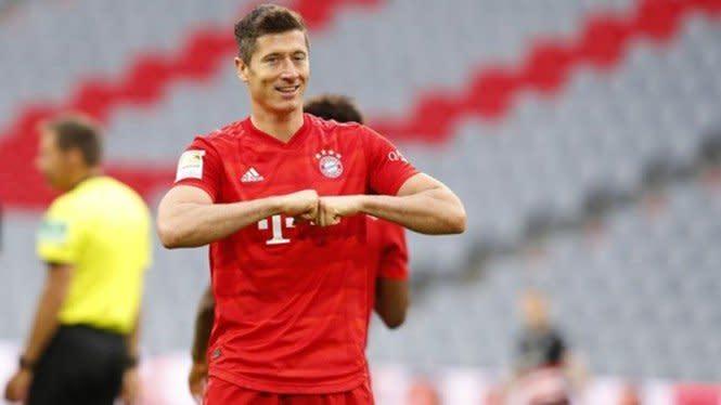 Bikin Rekor Lagi, Lewandowski Makin Dekat Kalahkan Messi dan Ronaldo